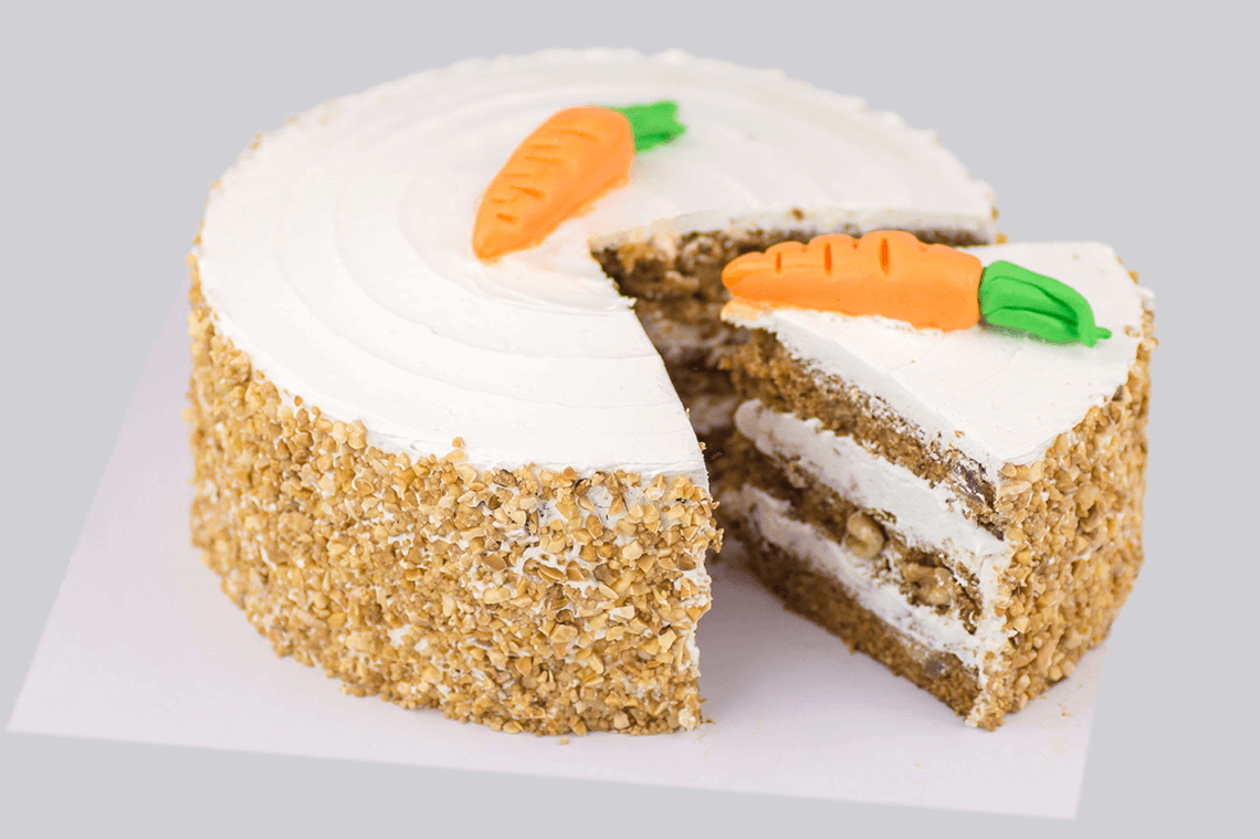 CARROT CAKE VEGANO PASTERLERIA MADRID BAKERY