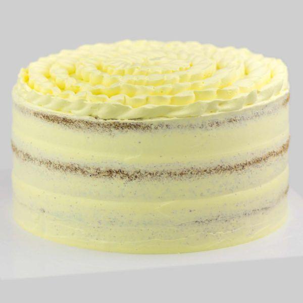 LEMON CAKE VEGAN MADRID BAKERY