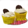 chocoblan cupcake vegano