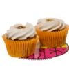 dulce de leche cupcake vegano